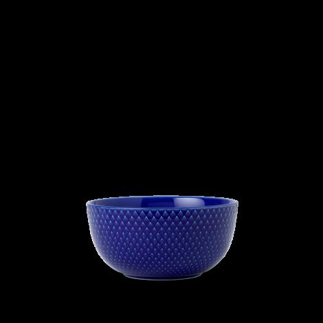 Lyngby Rhombe Color Skål Mørk Blå Ø13 cm