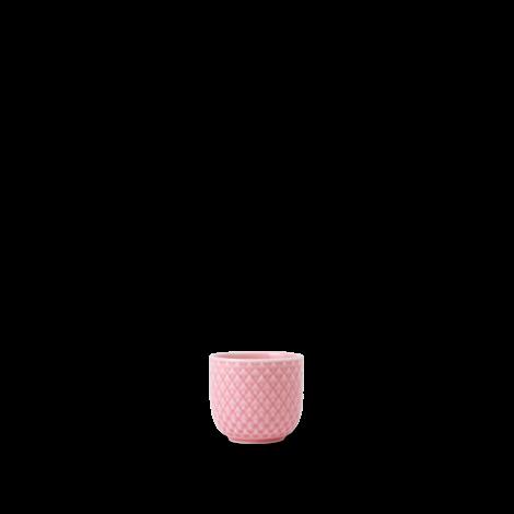 Lyngby Rhombe Color Eggeglass Rosa Ø5 cm. Levering august -21.