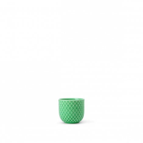 Lyngby Rhombe Color Eggeglass Grønn Ø5 cm. Levering i juli.
