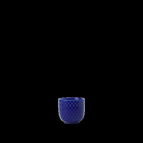 Lyngby Rhombe Color Eggeglass Mørk Blå Ø5 cm. Levering august -21.