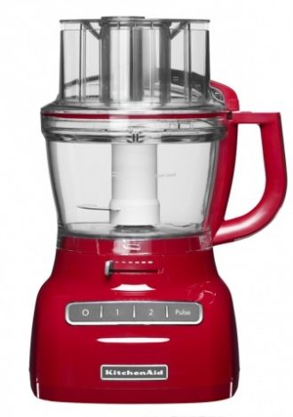 KitchenAid Food Prosessor Rød 3,1 Liter