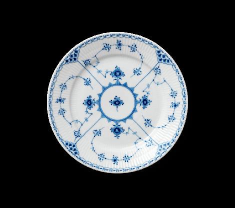 Royal Copenhagen Musselmalt Halvblonde plate 22 cm.