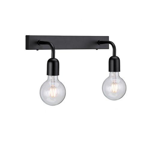 Belid Regal Vegglampe E27 Mattsort