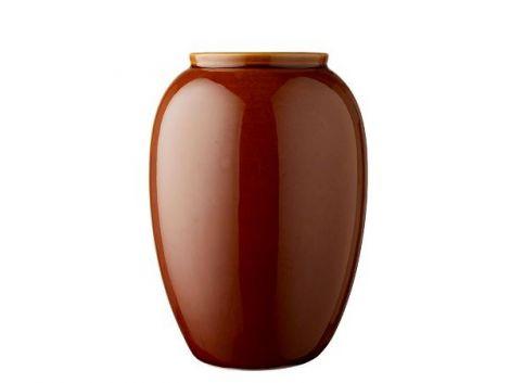 Bitz Vase 25 cm Amber
