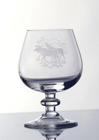 Villmark Cognac dekor elg 20cl