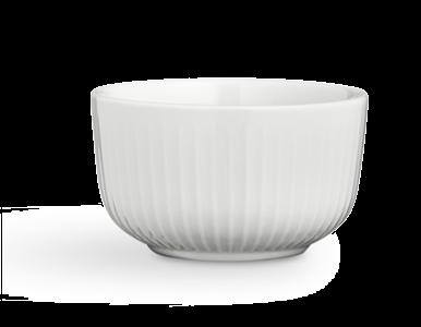 Kähler Hammershøi skål Ø110 hvit porselen