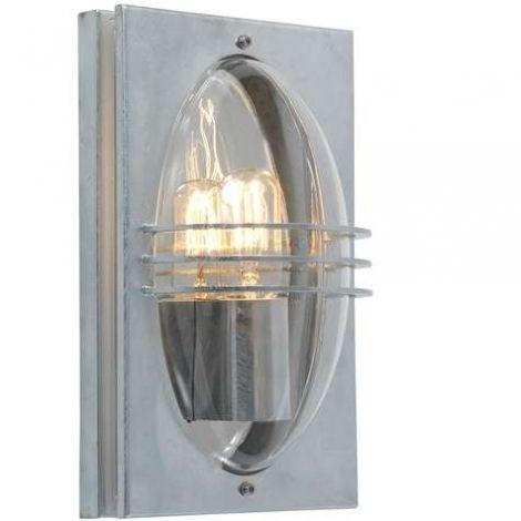 EA Belysning Frogner Vegglampe Galvanisert