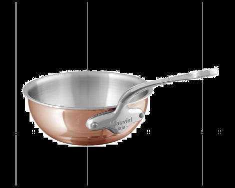 Mauviel M'6s sauté pan lubben kobber / stål 2L