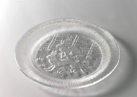 Villmark tallerken dekor hare 270mm