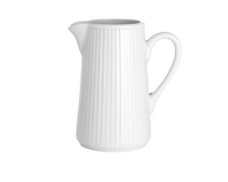 Pillivuyt Plissé kanne hvit - 35 cl
