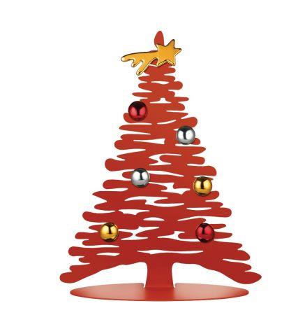 Alessi Juletre Rød