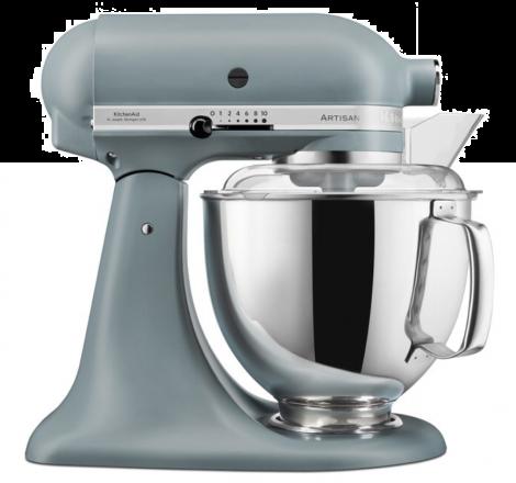KitchenAid Artisan Kjøkkenmaskin Fog Blue - 4,8 + 3 liter. Levering august -21.