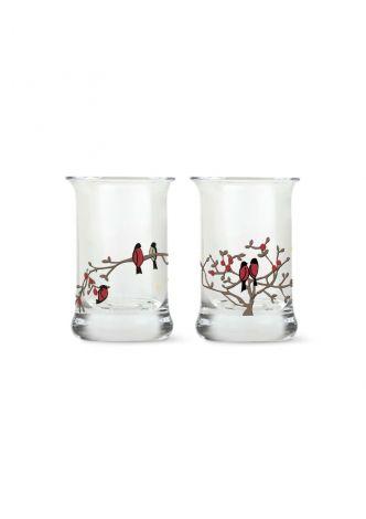 Holmegaard Christmas Drammeglass 2021 3 cl multi 2 stk.