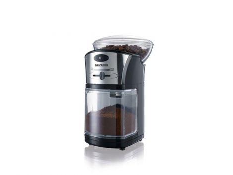 Severin Kaffekvern 100 watt Sort / Sølv
