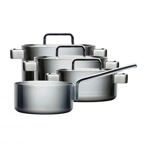Iittala Tools 4 deler (kasserolle u/lokk 2L, kasserolle 2L, kasserolle 3L, kasserolle 4L)