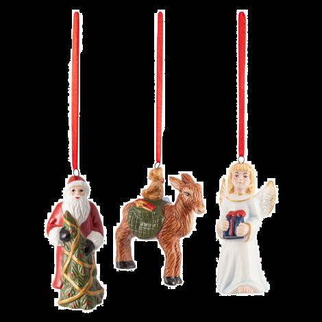 Villeroy & Boch Nostalgic Ornaments Julenisse, Engel, Rådyr