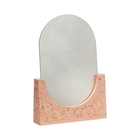 Hübsch Speil Terrazzo Red