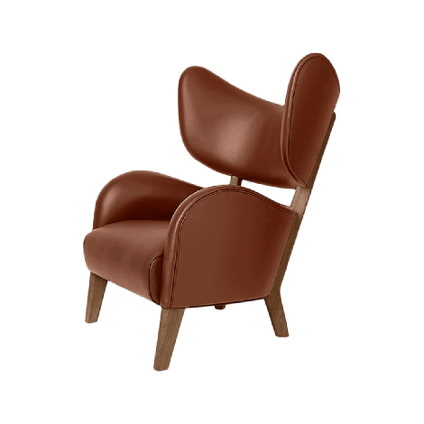 by Lassen My Own Chair cognac skinn