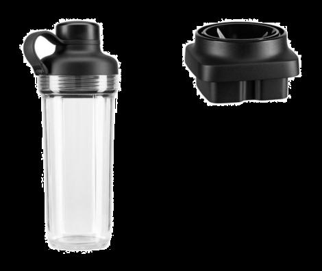 KitchenAid To-go beger og minihakker til K400 blender klar / svart . Levering mai -21.