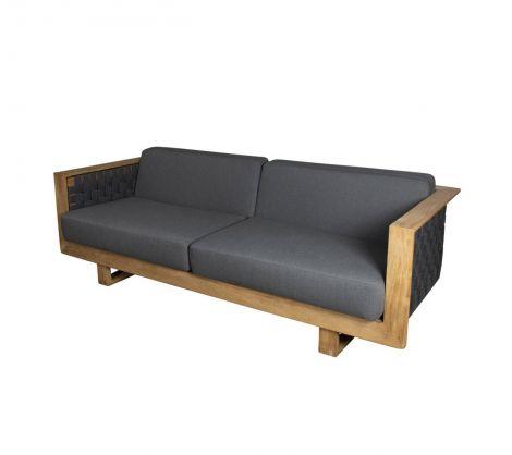 Cane-line Angle 3 seter sofa inkl putesett
