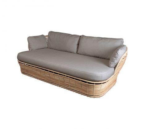 Cane-line Basket 2 seter sofa AirTouch Natur