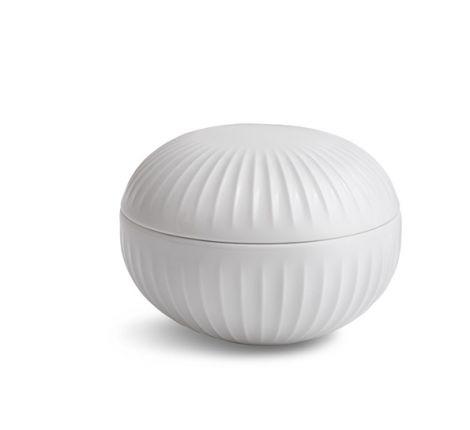 Kähler Hammershøi bonbonniere Hvit porselen