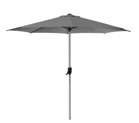Cane-line Sunshade parasoll Anthracite. Levering medio juni.