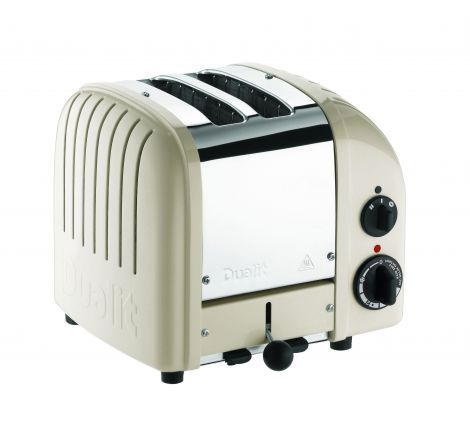 Dualit Toaster Classic 2-skiver Clay Beige