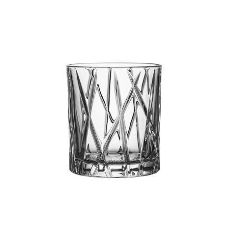 Orrefors City Whiskyglass 25 cl 4stk