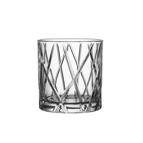 Orrefors City Whiskyglass 34 cl 4stk
