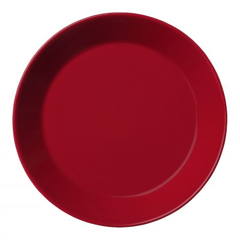 Iittala Teema Rødt Tallerken 17 cm