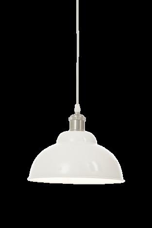 Scan Lamps Bonnie Taklampe Hvit/Sølv 25 cm
