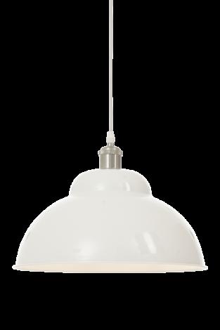 Scan Lamps Bonnie Taklampe Hvit/Sølv 35 cm
