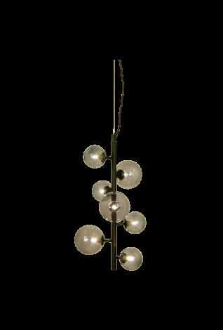 Scan Lamps Molekyl Taklampe Vertikal Sort/Sotet