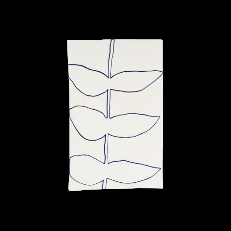 Kähler Relief Veggoppheng Stilk Keramikk