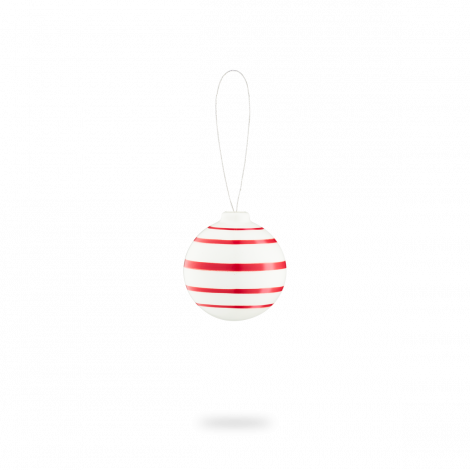Kähler Omaggio Julekule Rød
