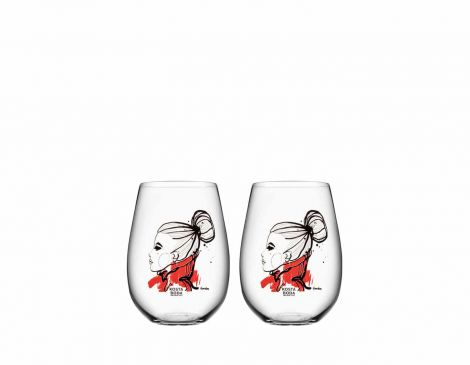Kosta Boda All About You, Want You Vannglass 65 cl 2stk