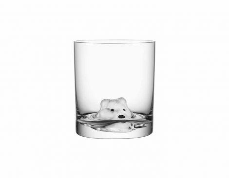 Kosta Boda New Friends Glass Arctic Fox 46 cl