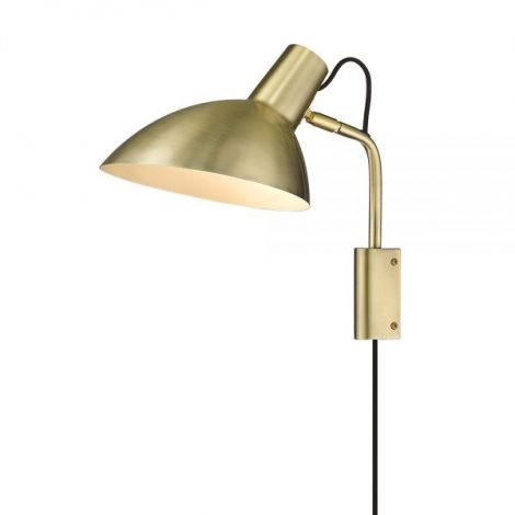 Halo Design Metropole Vegglampe Messing