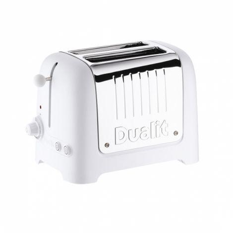 Dualit lite toaster 2 skiver Hvit
