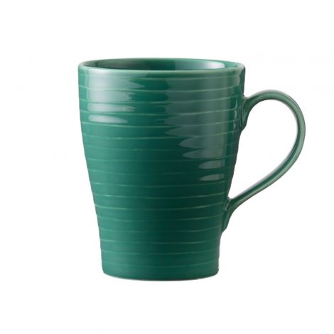 Design House Stockholm Blond Mug Green Stripe 30 cl 2stk