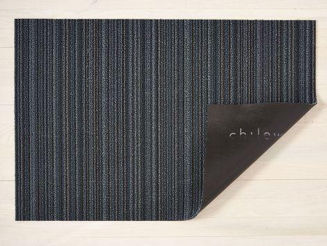 Chilewich Dørmatte Skinny Stripe Blue Stor