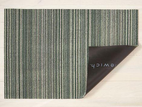 Chilewich Dørmatte Skinny Stripe Spearmint Stor
