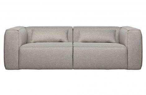 WOOOD Bean Sofa 3,5 seter lys grå