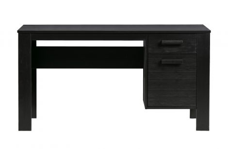 Woood Dennis Desk Pine Black