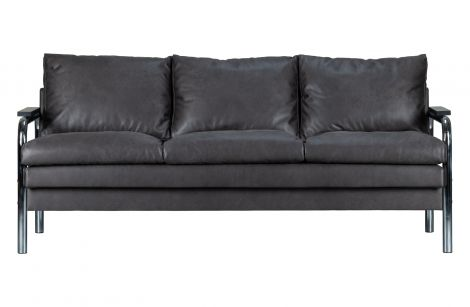 WOOOD Tube Sofa 2-seter Varm Grå