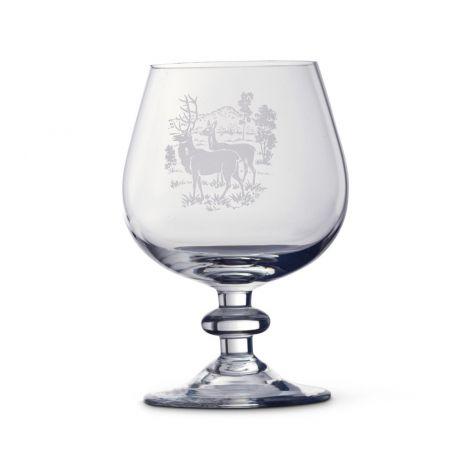 Magnor Villmark Cognac dekor hjort 20 cl
