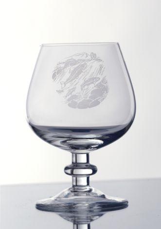 Villmark Cognac dekor laks 20cl