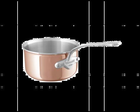 Mauviel M'6s kasserolle kobber/stål  0,8L