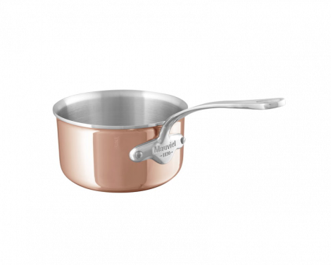 Mauviel M'6s kasserolle kobber/stål  1,1L